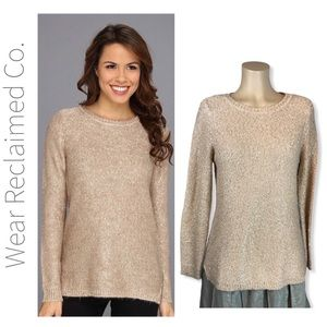CALVIN KLEIN Sequin Embellished Pullover Sweater